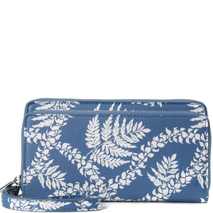 Wallet Allison Fern Lei Blue