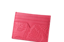 Load image into Gallery viewer, Card Case Meilany Fern Lei Embossed Pink