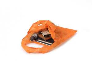 Foldable Bag Small Orange Orange
