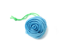 Load image into Gallery viewer, Foldable Bag Small Rose Blue