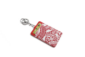 Card Case April Tapa Red