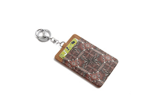 Card Case April Golden Lavi Brown - Happy Wahine