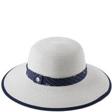 Load image into Gallery viewer, Hat Round Marigold White - Happy Wahine