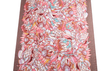 Load image into Gallery viewer, Scarf Danielle Print Sunflower Pink