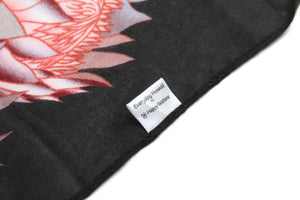 Scarf Danielle Print Sunflower Black