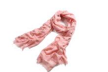 Load image into Gallery viewer, Scarf Danielle Gold Pineapple Pink