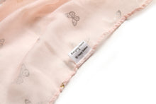 Load image into Gallery viewer, Scarf Danielle Gold Butterfly Blush - Happy Wahine