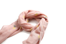 Load image into Gallery viewer, Scarf Danielle Textured Pineapple Pink