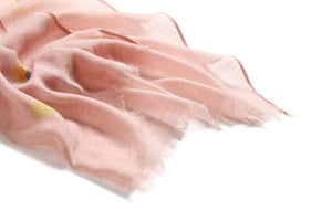 Scarf Danielle Textured Pineapple Pink - Happy Wahine