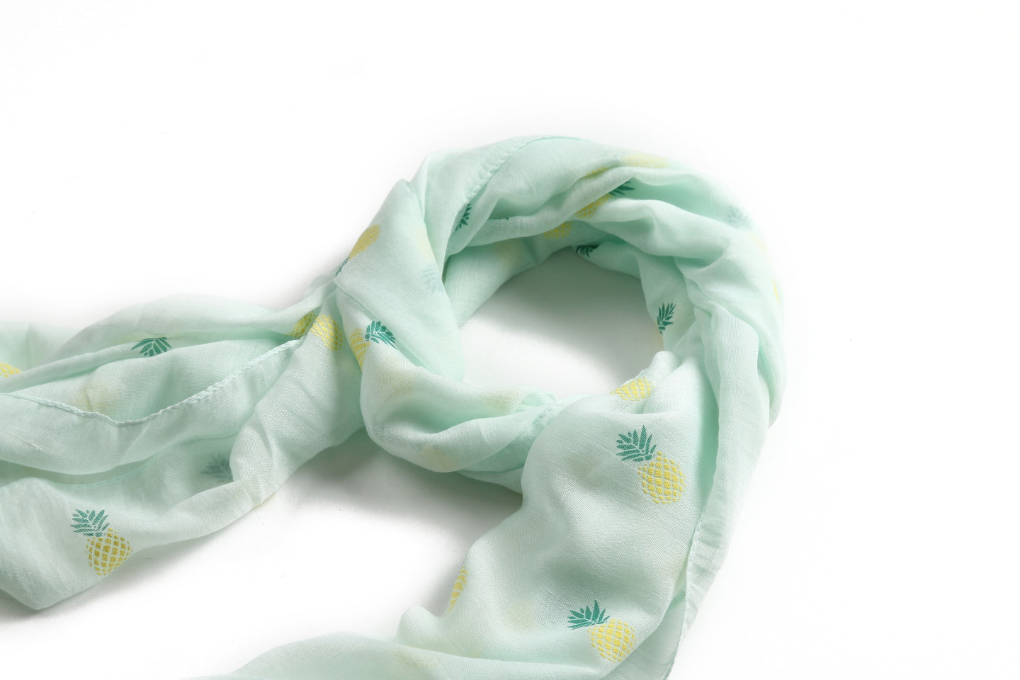 Scarf Danielle Textured Pineapple Mint