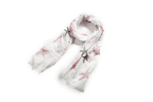 Load image into Gallery viewer, Scarf Danielle Print Starfish White