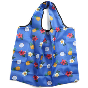 Foldable Bag Jackie Coconut Blue