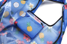 Load image into Gallery viewer, Foldable Bag Jackie Coconut Blue