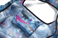 Load image into Gallery viewer, Foldable Bag Jackie Whales Blue