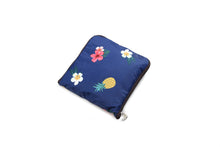 Load image into Gallery viewer, Foldable Duffle Bag Sophie Coconut Dark Blue