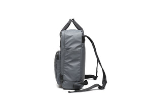 Backpack Square Ho'omau Tapa Grey