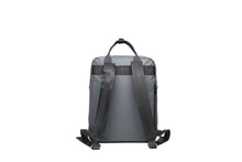 Load image into Gallery viewer, Backpack Square Ho'omau Tapa Grey