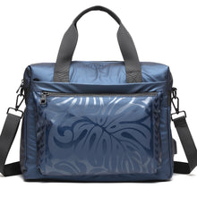 Load image into Gallery viewer, Work Bag Ho'omau Monstera Blue