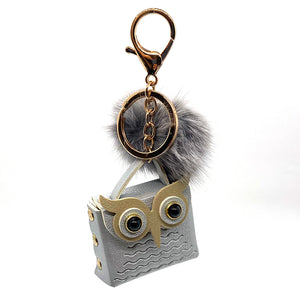 Charm Owl Case Silver