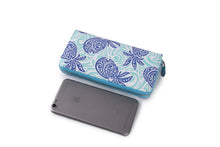 Load image into Gallery viewer, Wallet Kaylee Tapa Pineapple Blue
