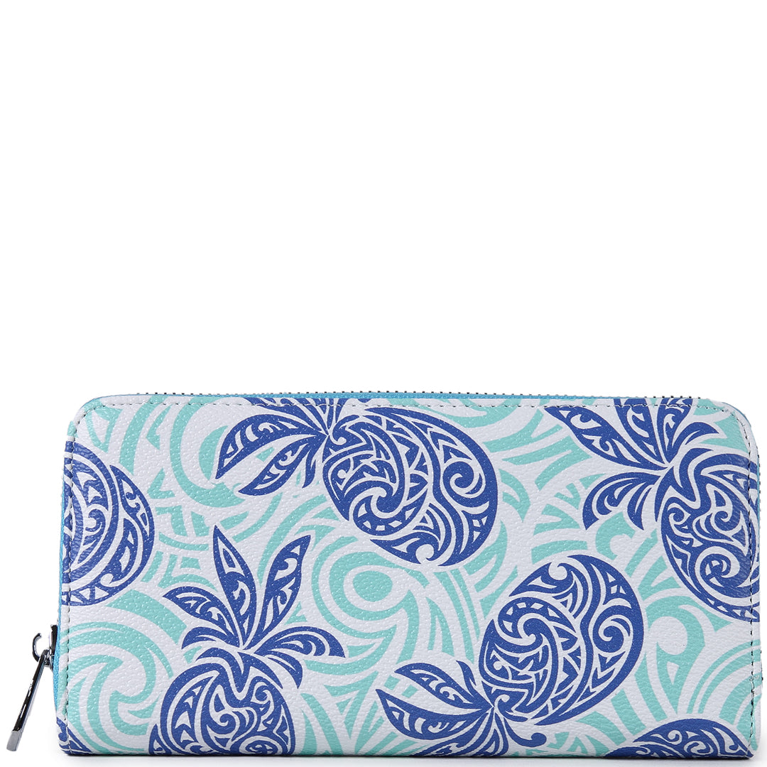 Wallet Kaylee Tapa Pineapple Blue