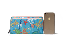 Load image into Gallery viewer, Wristlet Allison Mermaid Blue