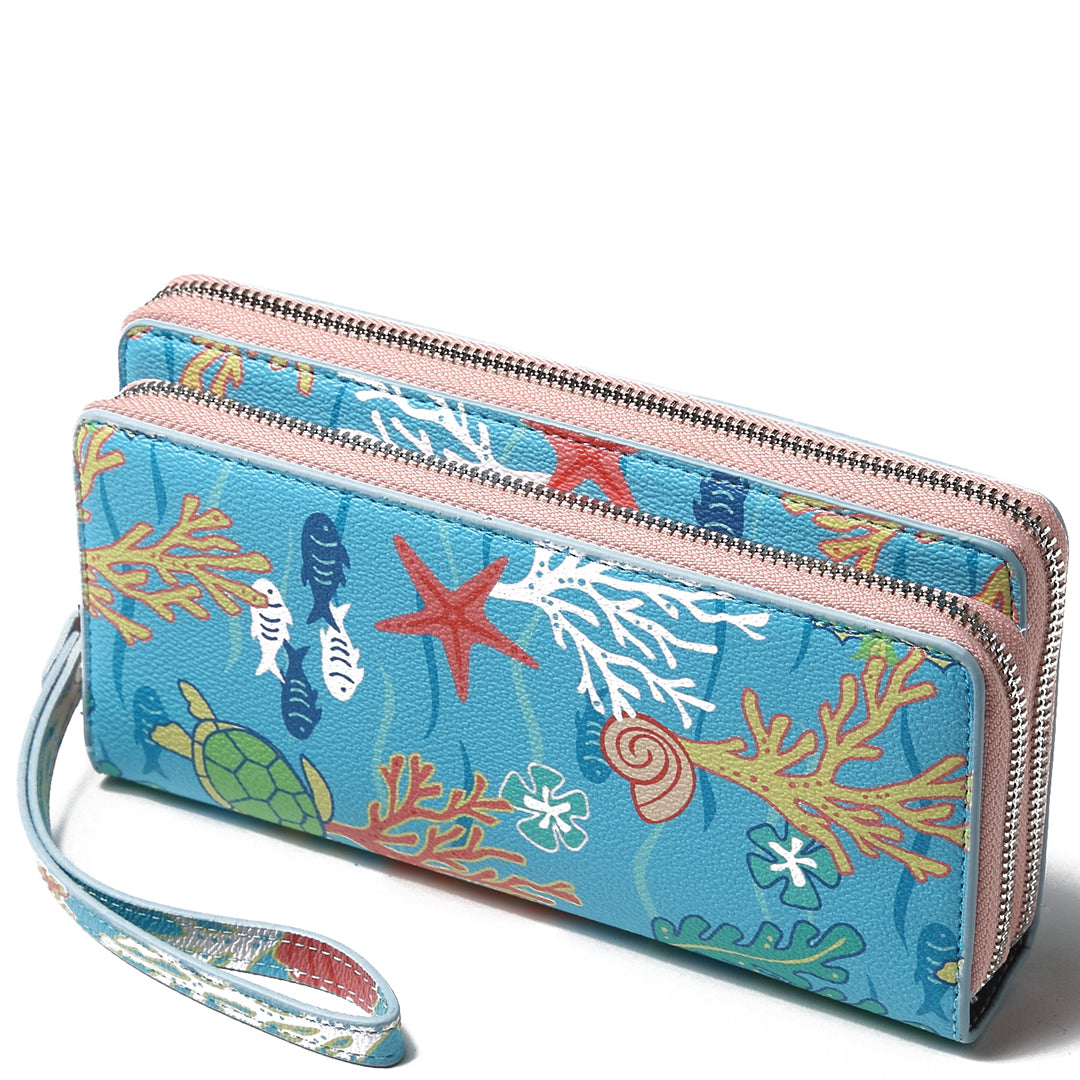 Wristlet Allison Mermaid Blue