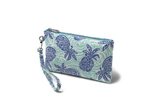 Load image into Gallery viewer, Wristlet Melody Tapa Pineapple Blue