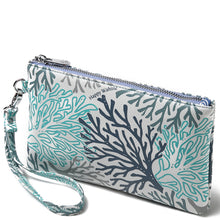 Load image into Gallery viewer, Wristlet Melody Coral Blue