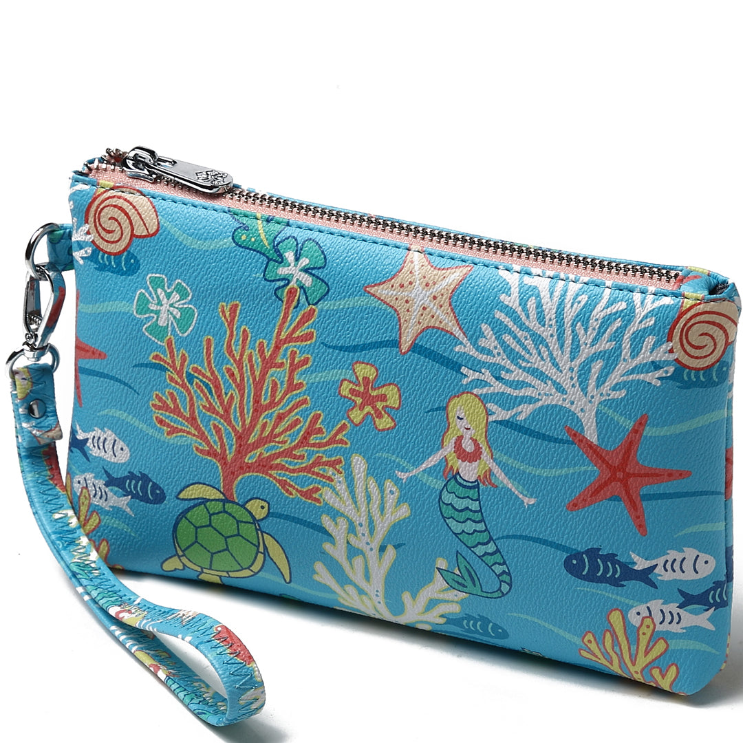Wristlet Melody Mermaid Blue