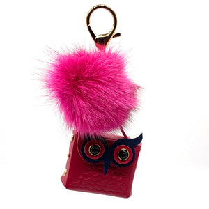 Charm Owl Case Red