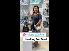 Load and play video in Gallery viewer, Handbag Pua Small Blue