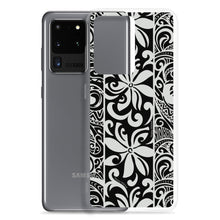 Load image into Gallery viewer, Samsung Phone Case Tapa Tiare Black