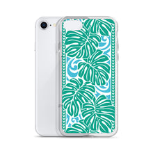 Load image into Gallery viewer, iPhone Phone Case Monstera Blue
