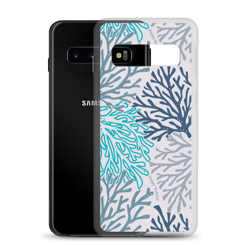 Samsung Phone Case Coral Blue - Happy Wahine