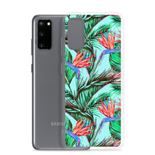 Load image into Gallery viewer, Samsung Phone Case Bird of Paradise Blue