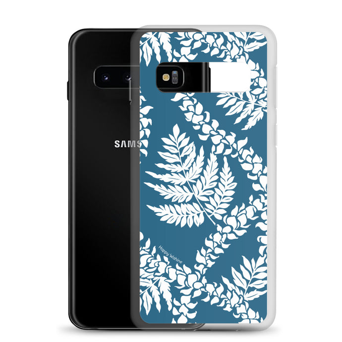 Samsung Phone Case Fern Lei Blue - Happy Wahine