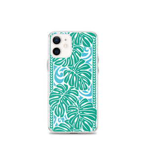 iPhone Phone Case Monstera Blue