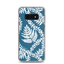 Load image into Gallery viewer, Samsung Phone Case Fern Lei Blue - Happy Wahine