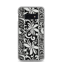 Load image into Gallery viewer, Samsung Phone Case Tapa Tiare Black - Happy Wahine