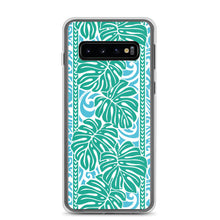 Load image into Gallery viewer, Samsung Phone Case Monstera Blue