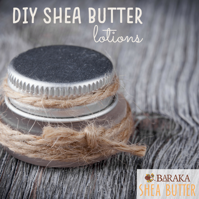 "10-Minute ""Rawmazing"" DIY Shea Butter Lotions"