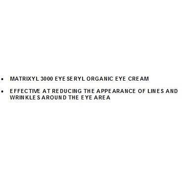 MATRIXYL 3000 EYESERYL ORGANIC EYE CREAM