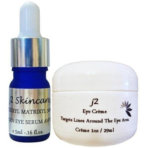 Eyeseryl Eye Serum with Organic Eye Cream