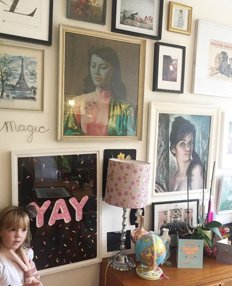 HOW TO DESIGN YOUR GALLERY WALL with LALA and POM