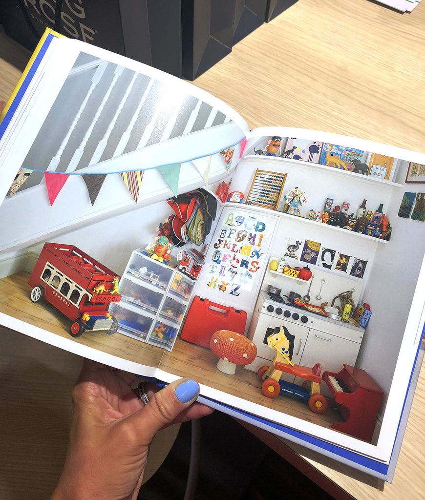 Our prints in the book Shelfie in the kids section