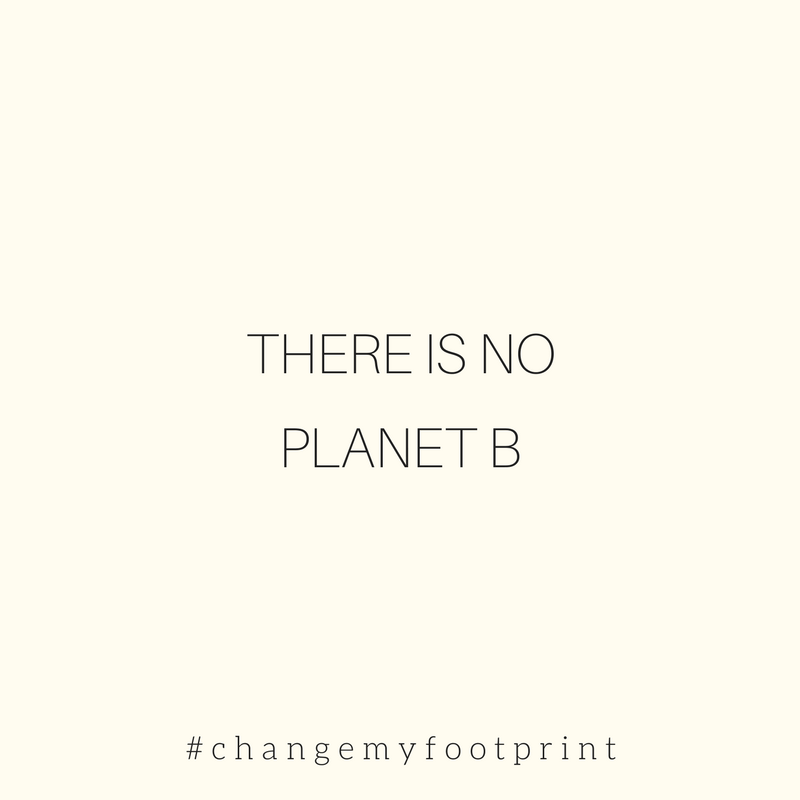There is no planet B. World environment day