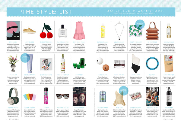 Doodlemoo's print Luna Eclipse featured in The Stylist Magazine