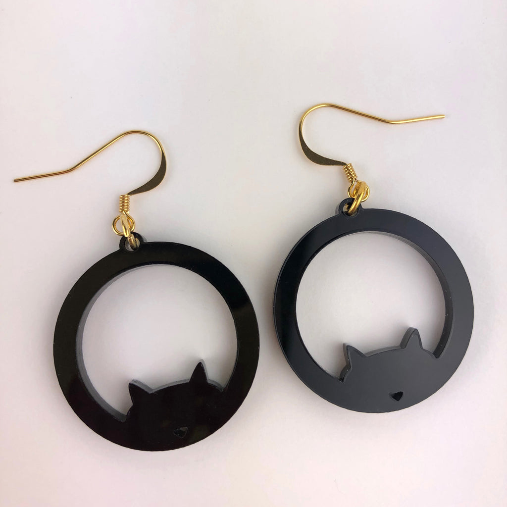 Luna Eclipse; Cat Jewellery set