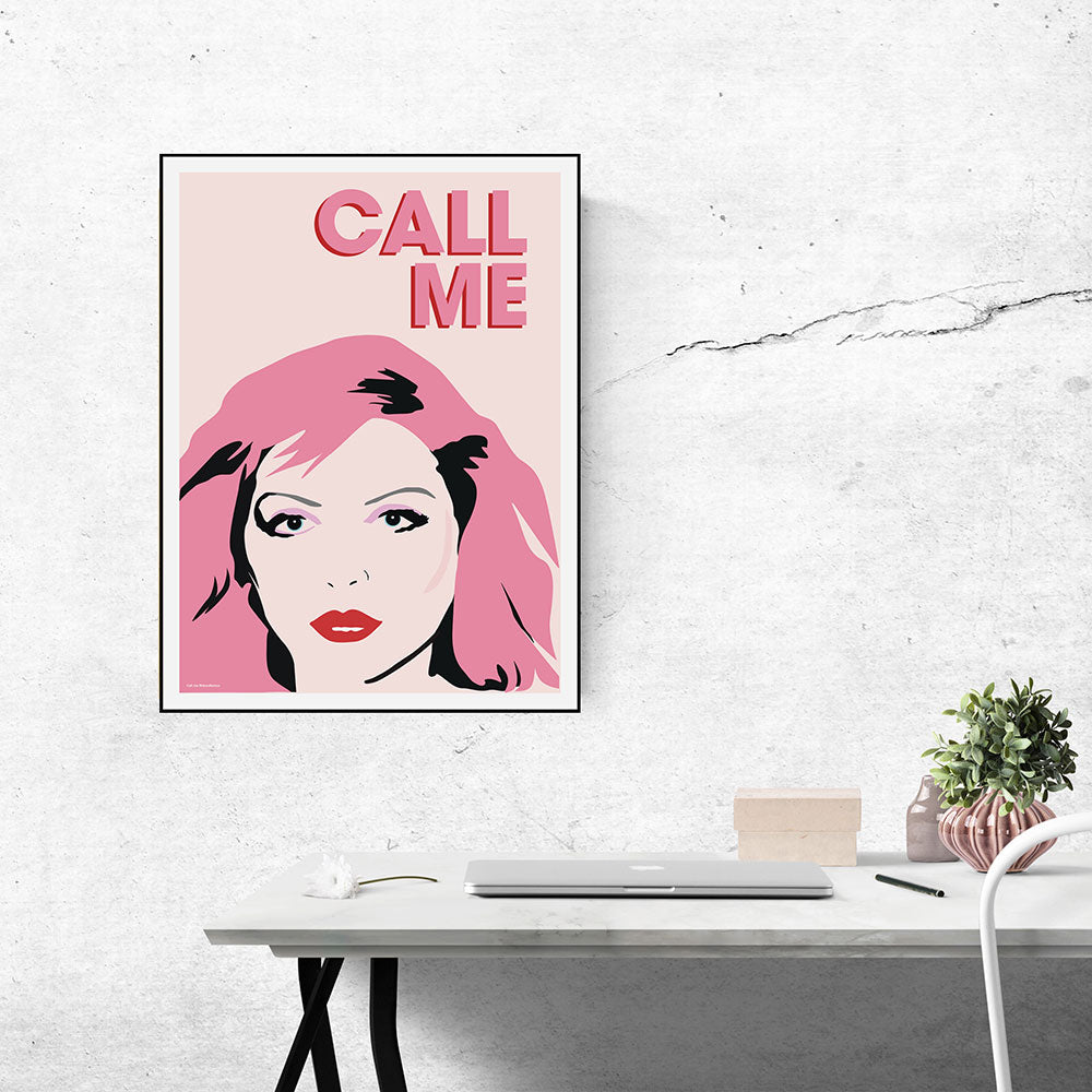 Debbie Harry art print illustrated by playful brand Doodlemoo